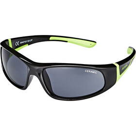 Alpina Flexxy Brille Kinder black-green